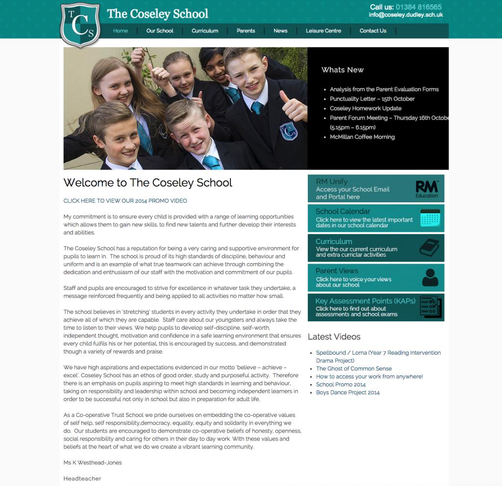 Coseley School Website