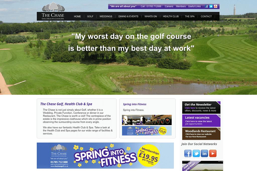 The Chase Golf, Health Club & Spa