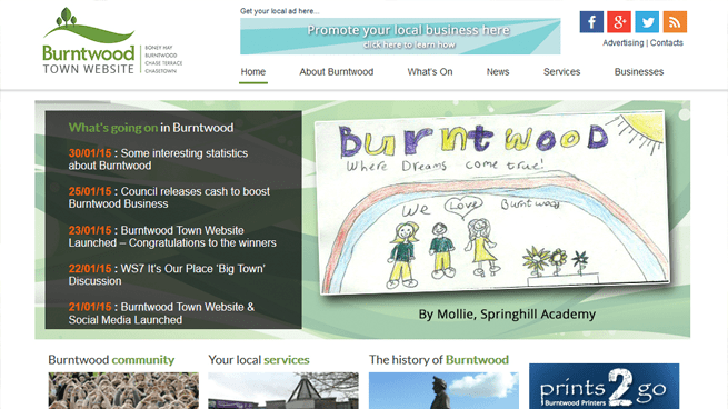 Case Study : Burntwood Town Council