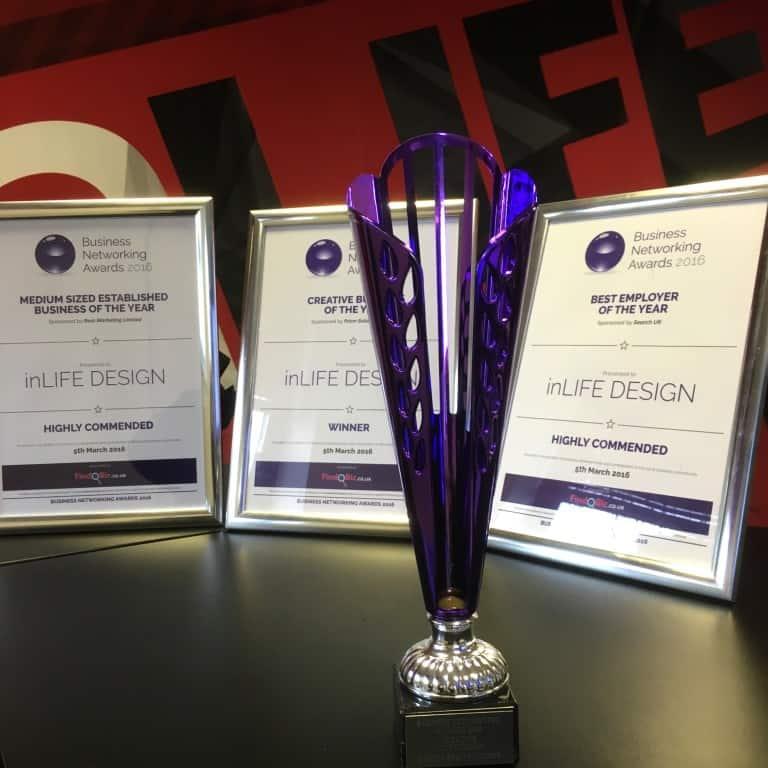 inLIFE Wins Creative Business 2016!