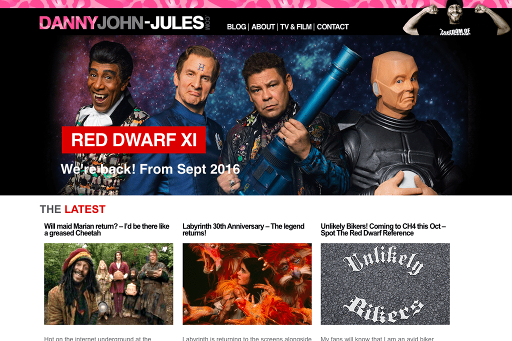 Danny John Jules – Official Website