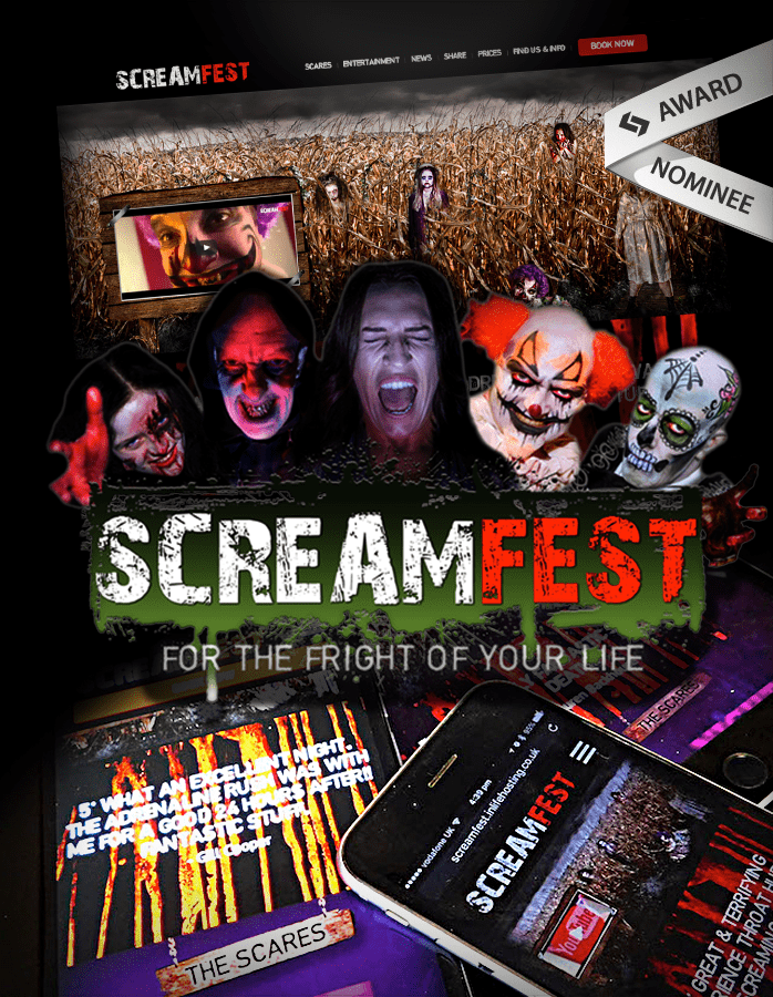 Case Study : Screamfest… a scarily good website