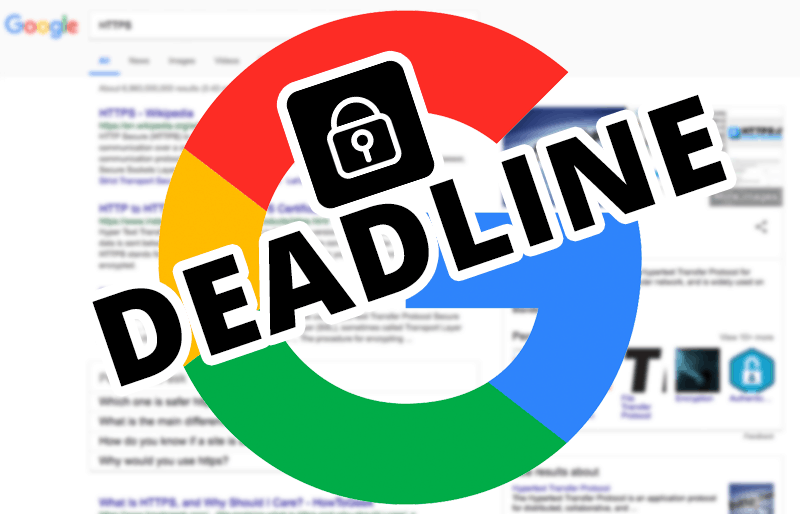 Googles HTTPS Deadline is coming… are you ready?