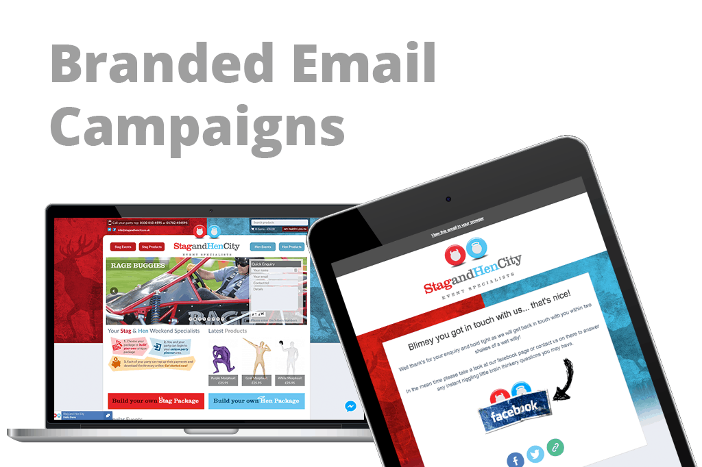 Branded Email Campaigns