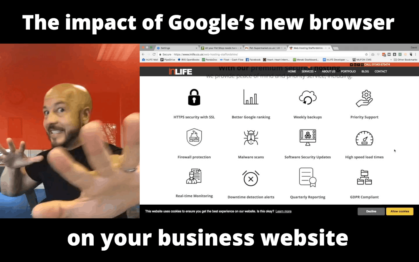 The single impact of Google's new browser on your business website