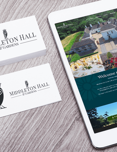 Case Study : Middleton Hall Branding & Website