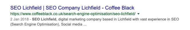SEO Lichfield