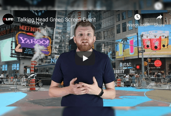 Our Talking Heads Green Screen Day – Special Intro Offer