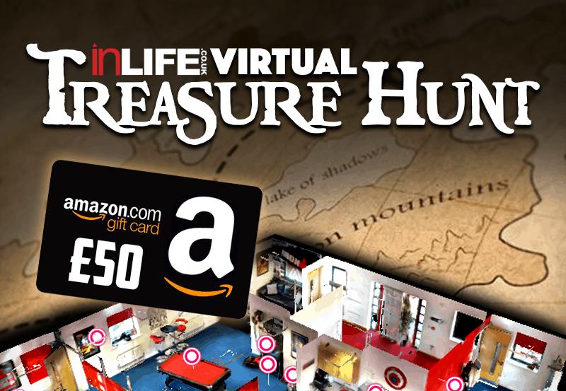 The inLIFE Virtual Office Treasure Hunt! - Win a £50 Amazon Voucher