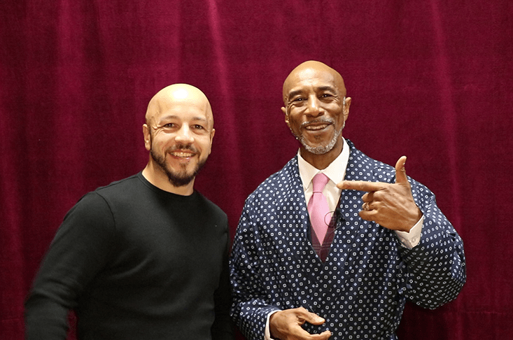Catching up with Danny John-Jules at his latest show