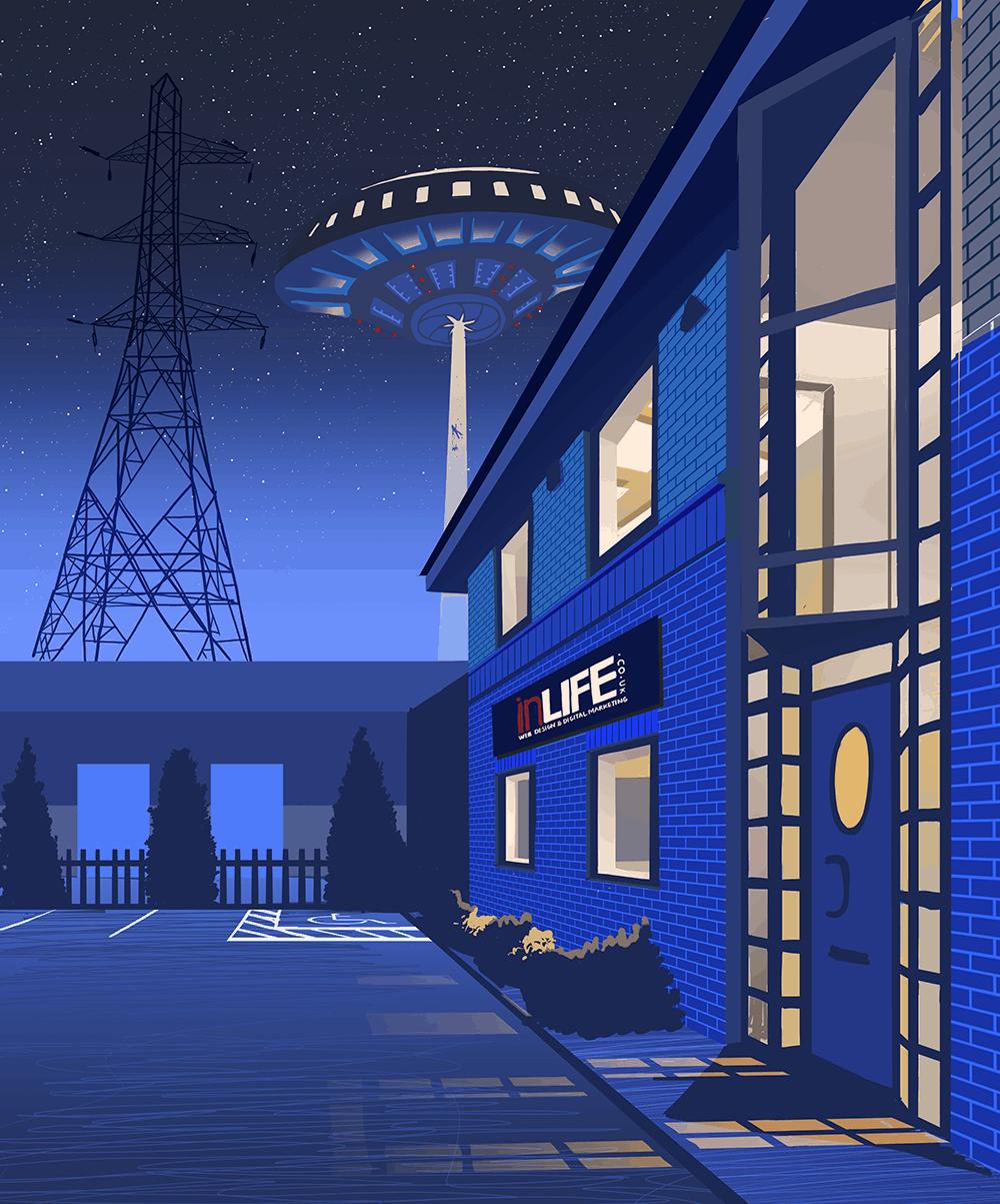 The inLIFE Office – Digital Artwork